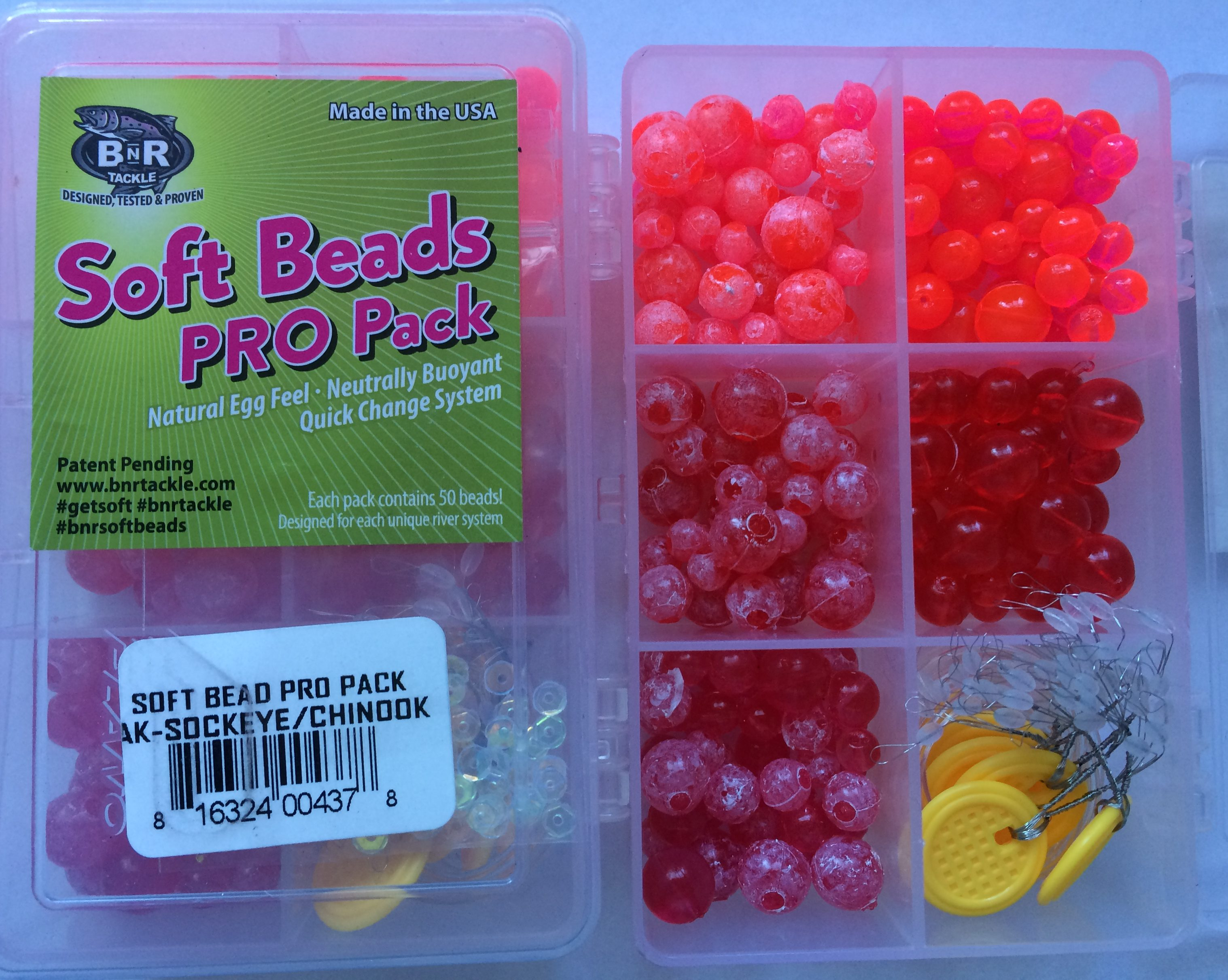 Trout Pro Packs – AK Sockeye/Chinook