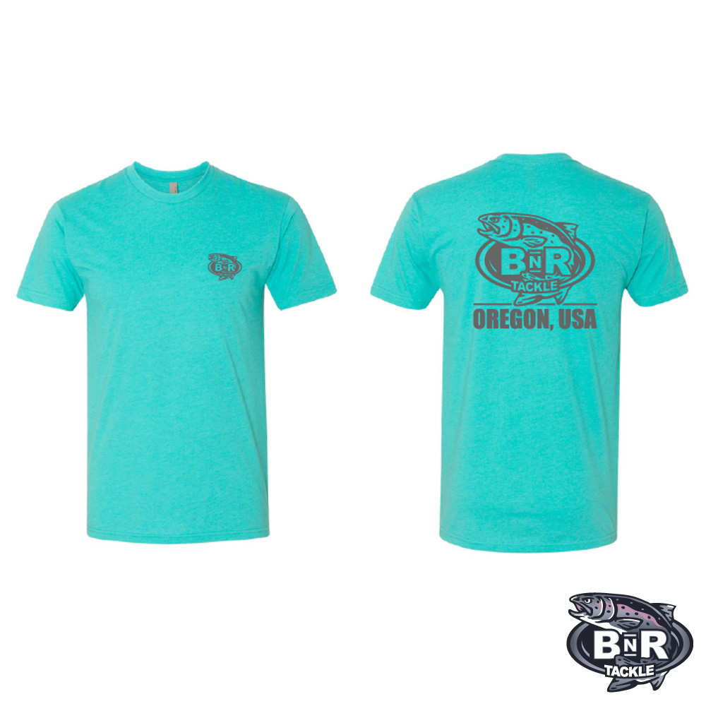 BnR Tackle T-Shirt – Tahiti Blue – On Sale Now (XXL)