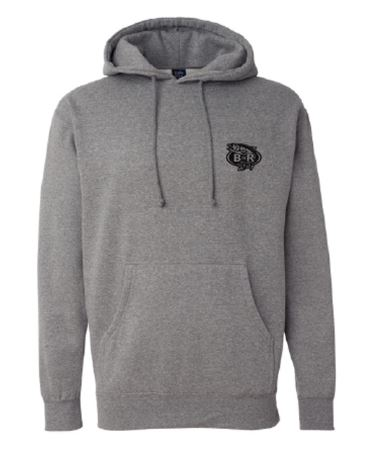 BnR Tackle Hoodie – Gray/Black OUT OF STOCK