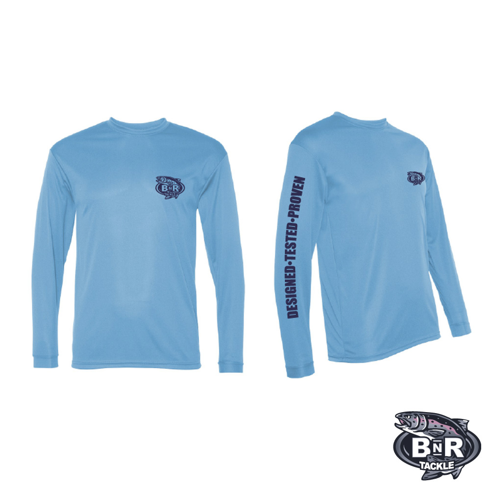 BnR Tackle Long Sleeve Tech Shirts