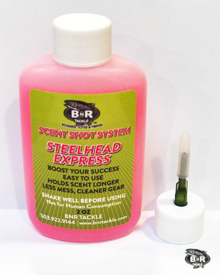 BnR Tackle Scent Shot, Steelhead Express