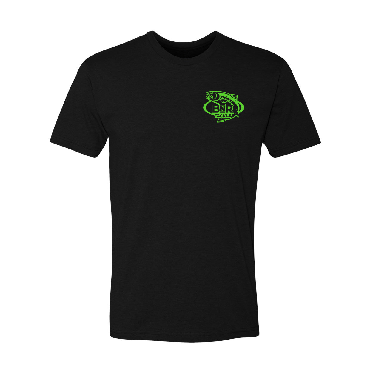 BnR Tackle T-Shirt – Black/Green