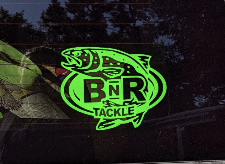 BnR Tackle Vinyl Cutout Stickers