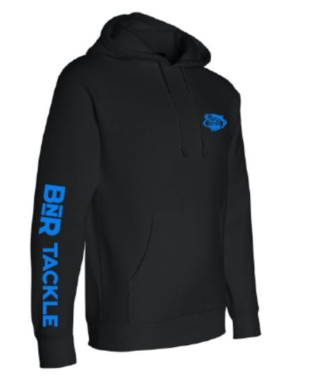 BnR Tackle Hoodie – Black/Blue