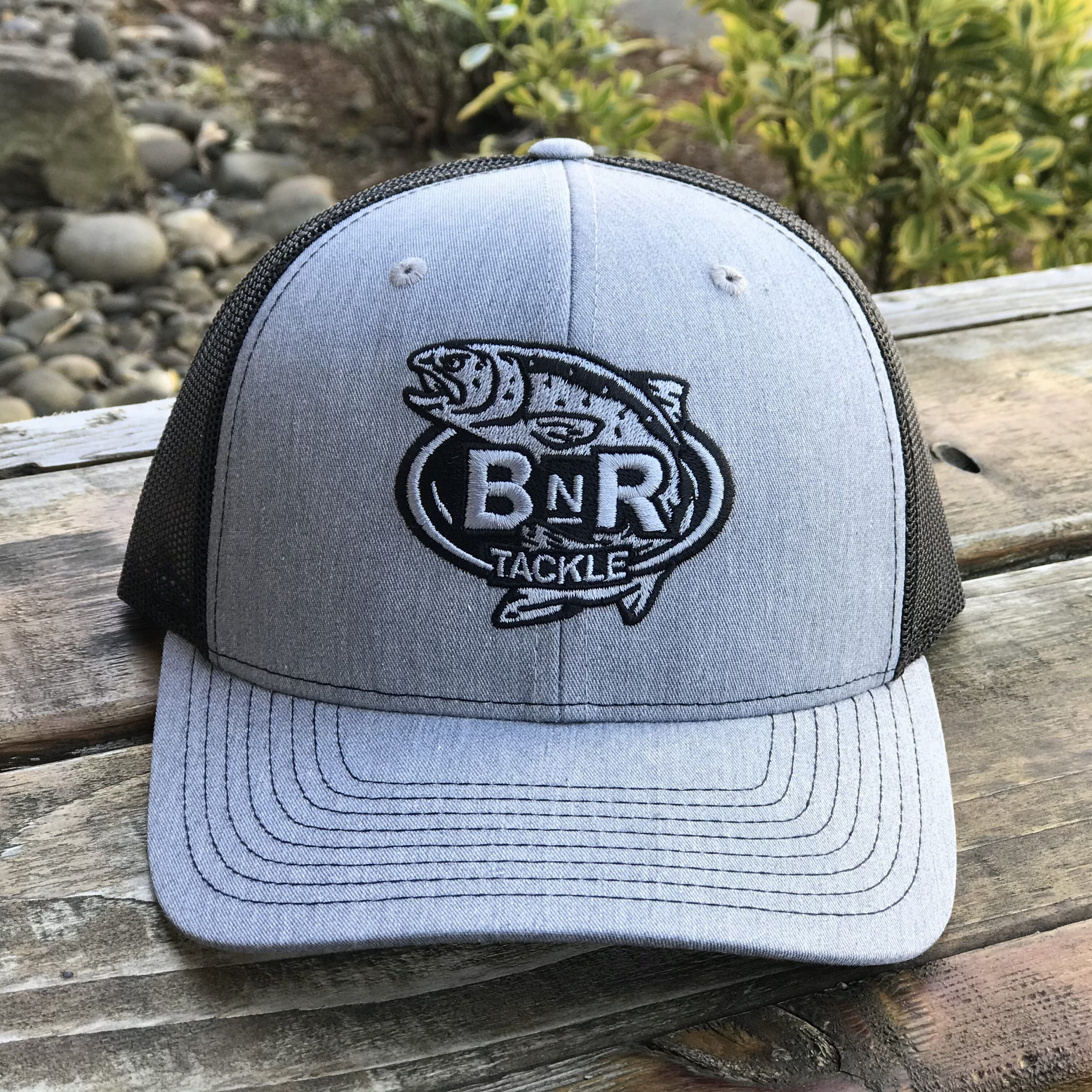 BnR Tackle Hat – Heather Grey/Black